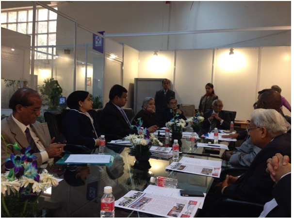 Afro Asian Book Council at New Delhi World Book Fair