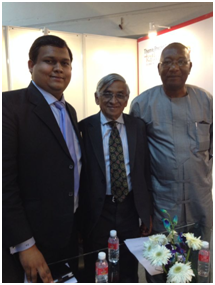 With Mr. Sukumar Das, Dr. Terry O' Brian