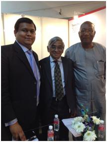 With Mr. Sukumar Das, Dr. Terry O' Brian