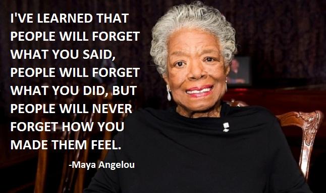 Maya Angelou by Maya