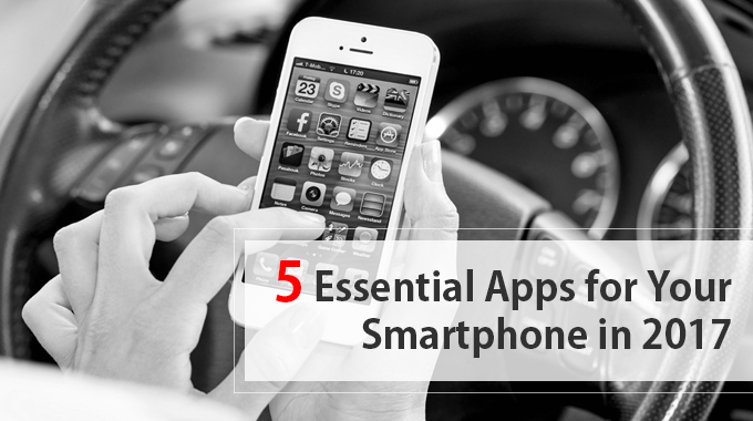 Get the best from your smartphone with these 5 apps of 2017