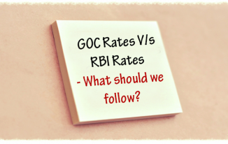 GOC Rates Vs RBI Rates: What should we follow?
