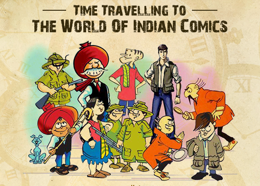 Story of Indian Comics Retold