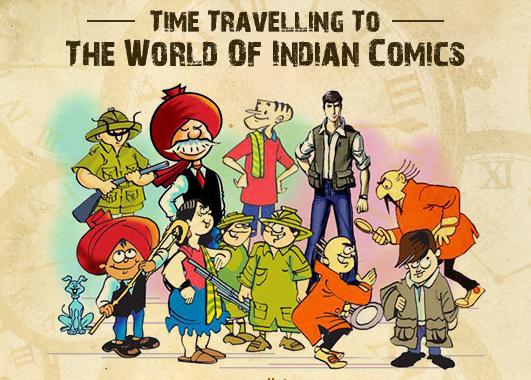 Story of Indian Comics Retold
