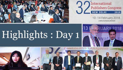 32nd International Publishers Congress – Day 1