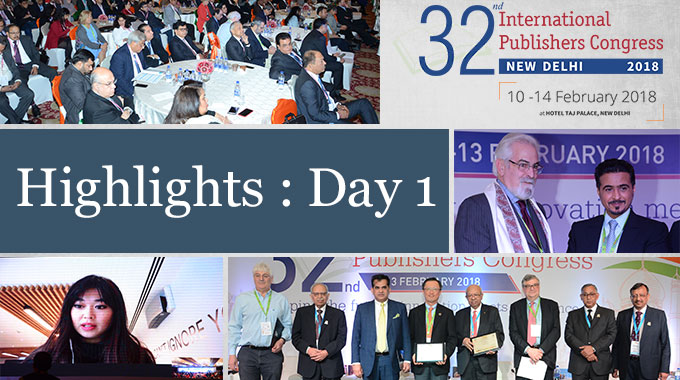 32nd International Publishers Congress – Day 1